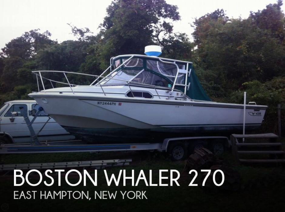 1985 Boston Whaler 270
