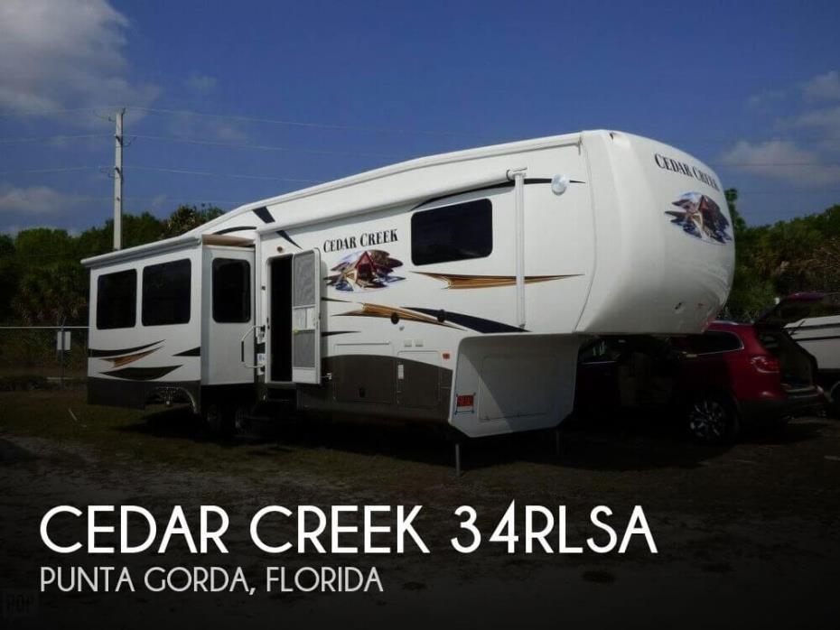 2013 Forest River Cedar Creek 34RLSA
