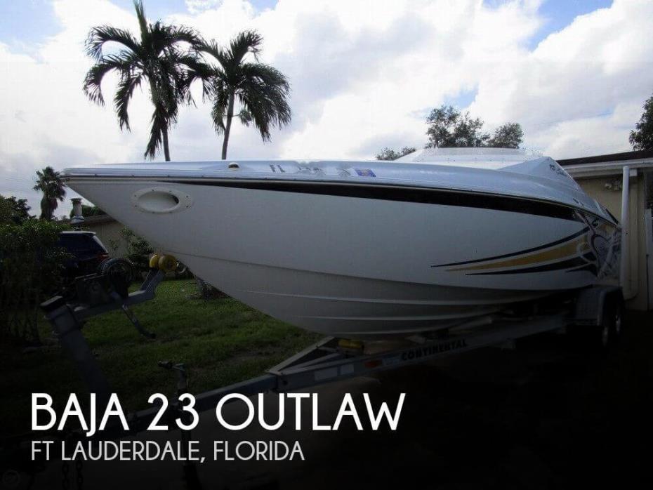 2005 Baja 23 Outlaw