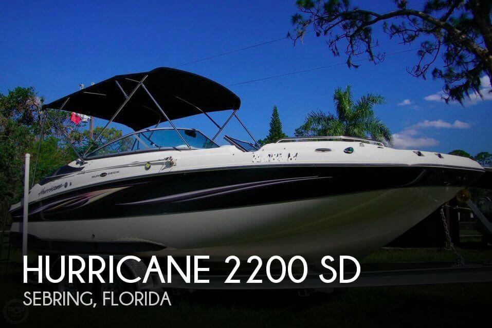 2009 Hurricane 2200 SD