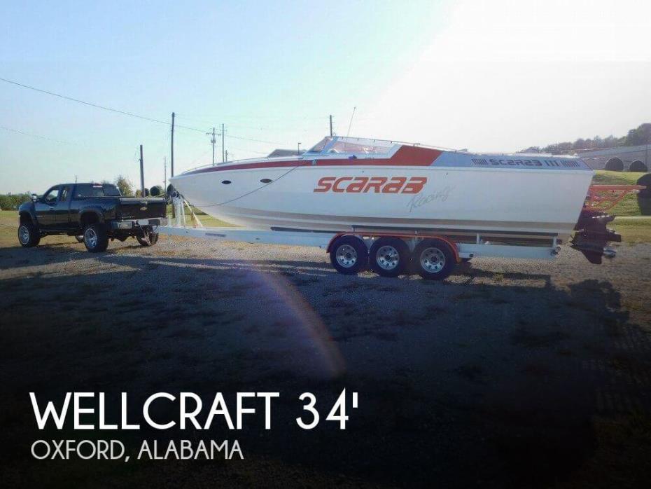 1989 Wellcraft Scarab III