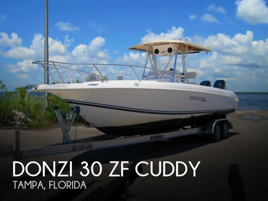 1999 Donzi 30 ZF Cuddy