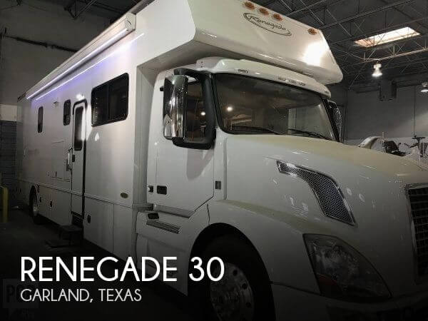 2015 Harney Coach Works Renegade 30