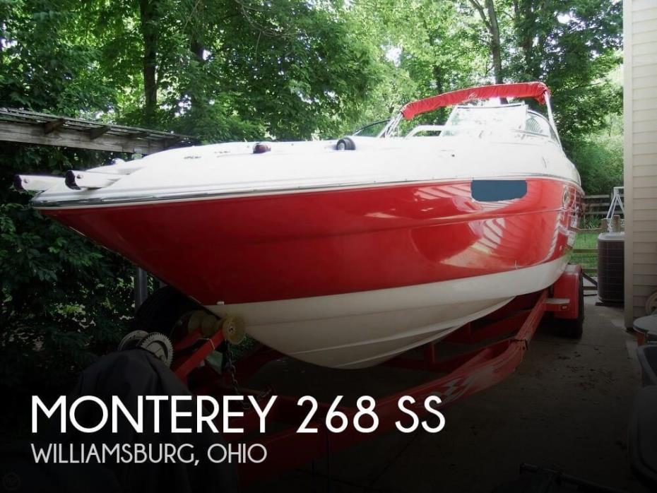 2004 Monterey 268 SS
