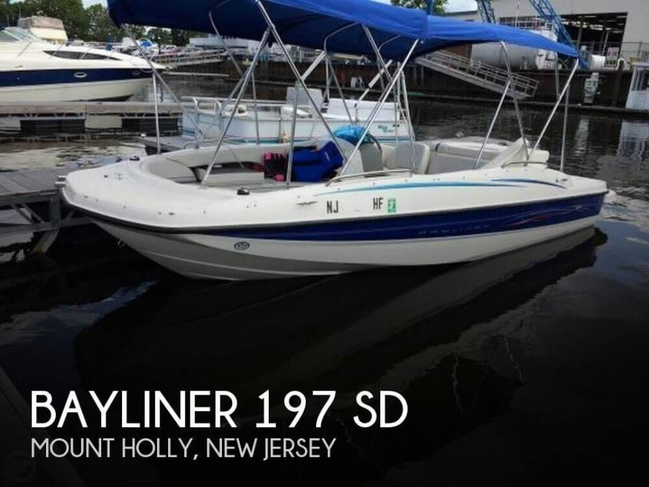 2006 Bayliner 197 SD