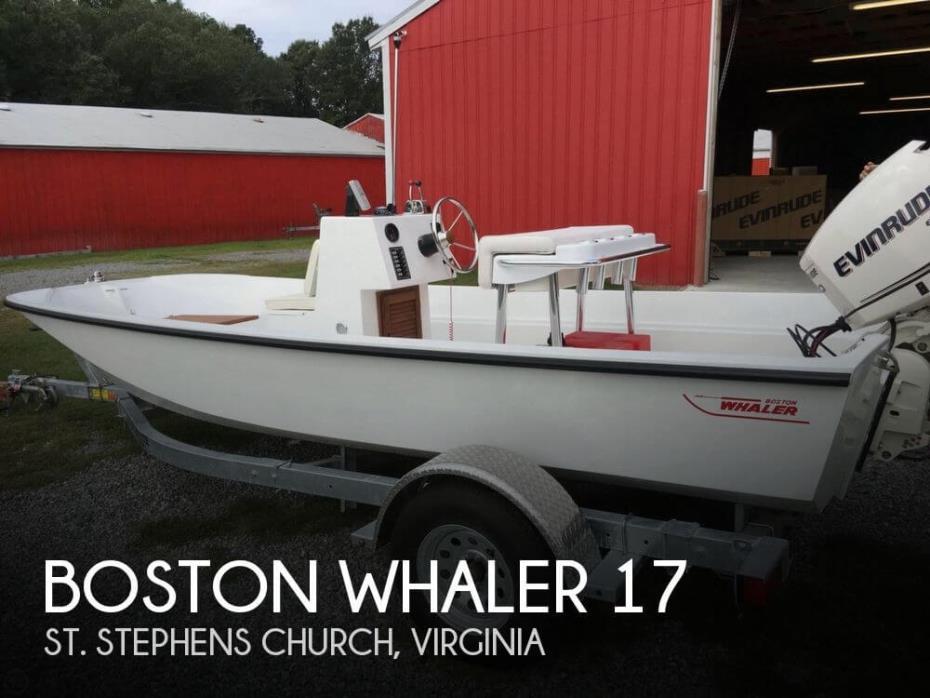 1978 Boston Whaler 17