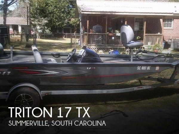 2015 Triton 17 TX