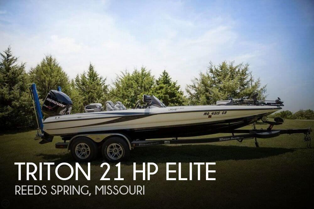 2012 Triton 21 HP Elite