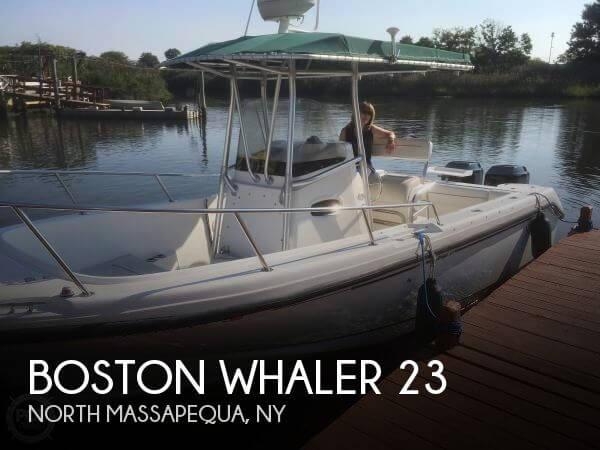 2000 Boston Whaler 23