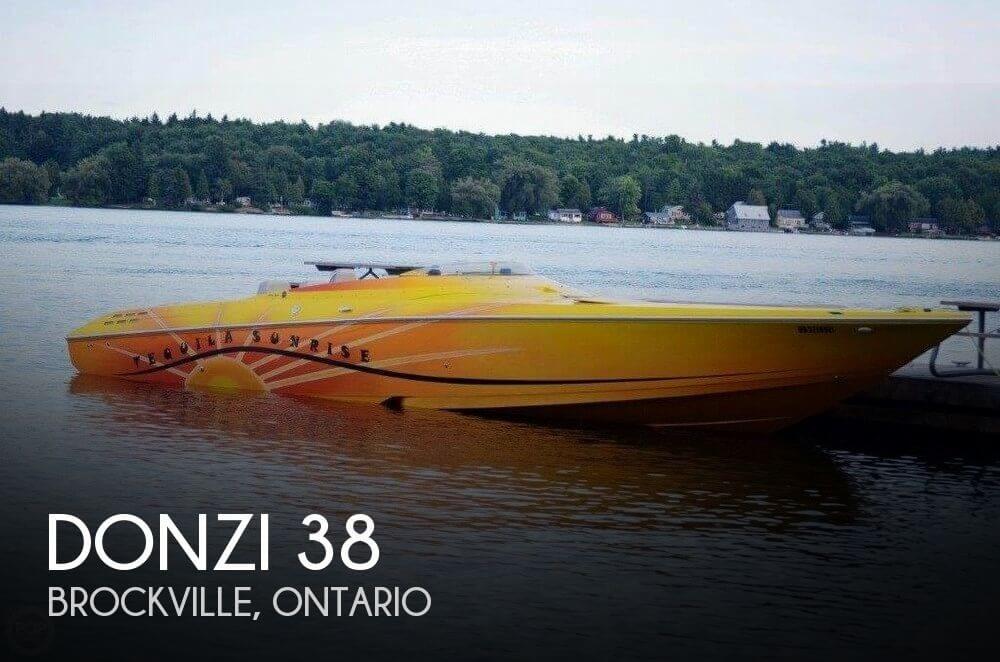 2006 Donzi 38 ZR