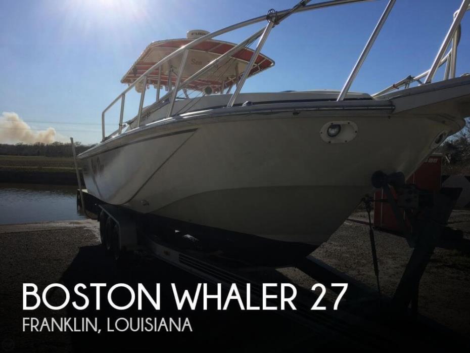 1986 Boston Whaler 27