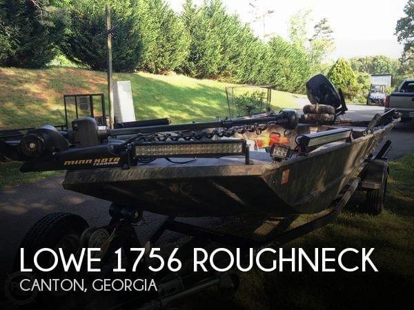 2015 Lowe 1756 Roughneck
