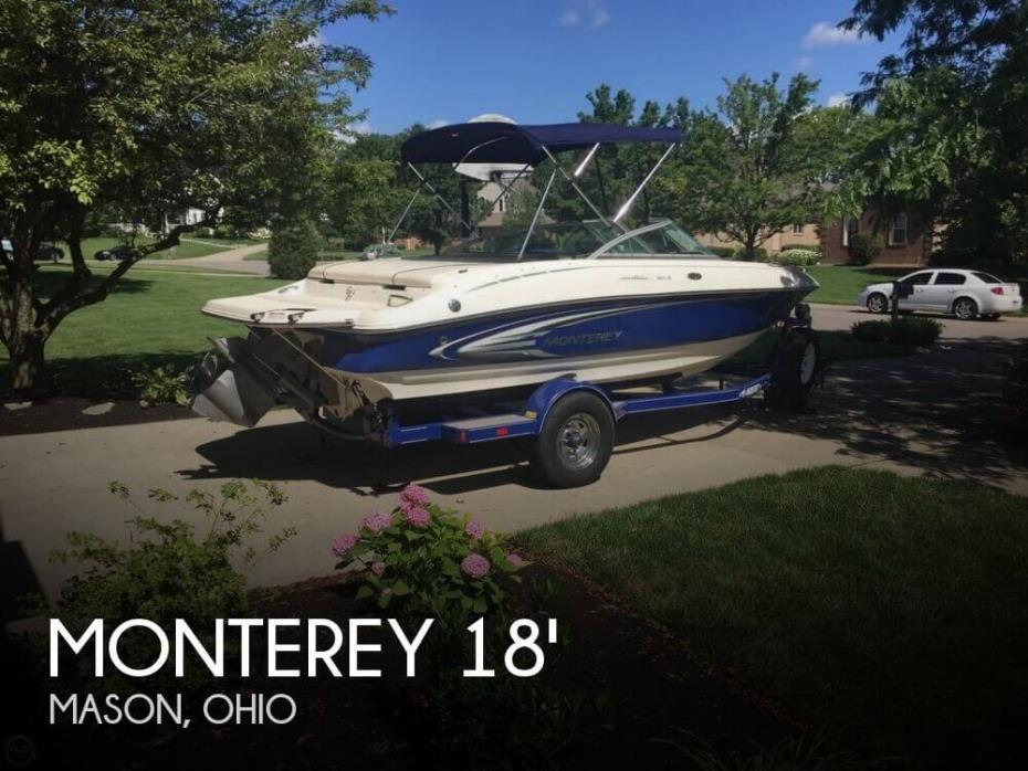 2005 Monterey 190LS Montura