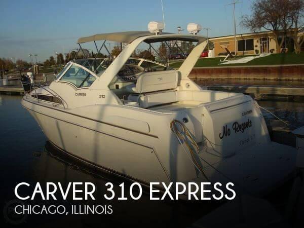 1996 Carver 310 Express