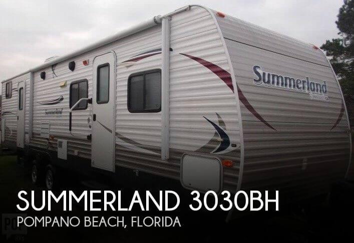 2013 Keystone Summerland 3030BH