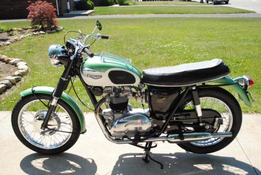 1967 Triumph Tr6r Motorcycles For Sale