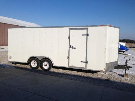 2011 Continental Trailers 8.5' X 20' WHITE