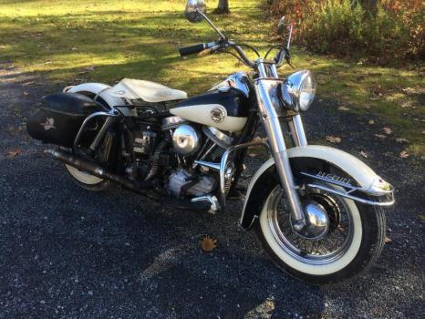 1958 Harley FL Panhead DuoGlide