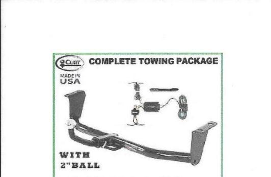 Complete Trailer Hitch Setup for 05 Toyota Corolla S