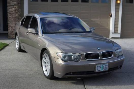 2002 BMW 745LISuper Luxury Sedan excellent condition