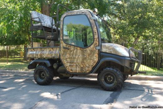 kubota rtv1100 realtree hardwoods camouflage motorcycles for sale. Black Bedroom Furniture Sets. Home Design Ideas