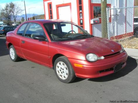 2236: THE LITTLE RED SHUTTLE: 1997 PLYMOUTH NEON