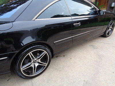 Mercedes-Benz : CL-Class LOADED 2000 mercedes cl 500 blk on blk amg wheels note needs ignition switch