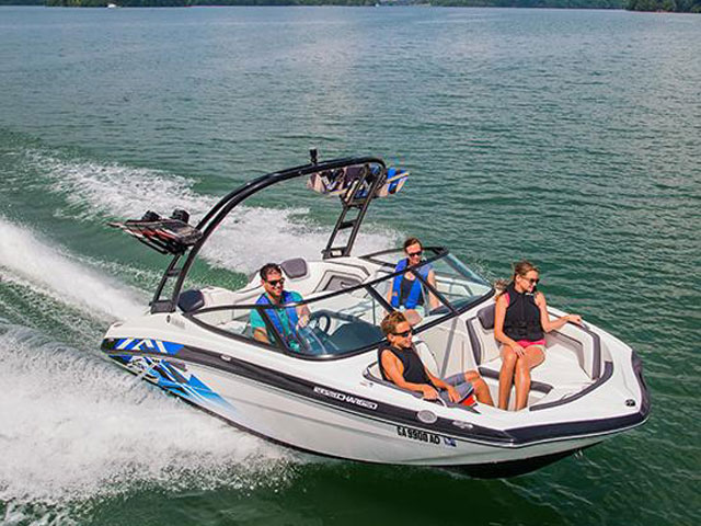 2016 YAMAHA BOATS 19 FT AR192