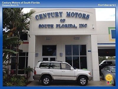 Toyota : Land Cruiser 3RD ROW 4X4 HEATED SEATS ROOF AUTO CARFAX CLEAN V8 TOYOTA LANDCRUISER THIRD ROW AUTO V8 4X4 4WD ALL WHEEL DRIVE 0 ACCIDENTS CARFAX