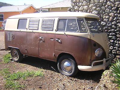 Volkswagen : Bus/Vanagon Westfalia 1966 vw westfalia tin top camper ca bus s 042