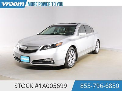 Acura : TL 3.5 Certified 2013 53K MILES 1 OWNER NAV SUNROOF 2013 aucra tl 53 k miles nav sunroof rearcam htd seats usb aux 1 owner cln carfax