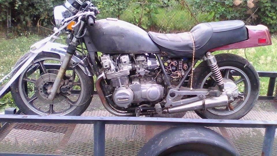 1983 Kawasaki Kz 750