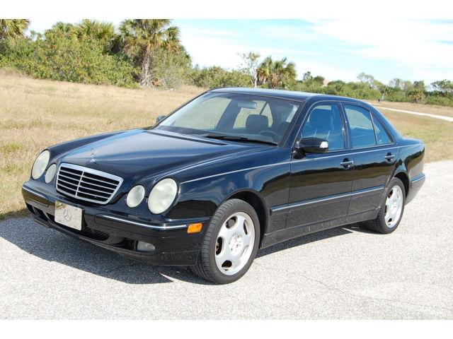 Mercedes-Benz : E-Class 4dr Sdn 4.3L 01 mercedes e 430 4 matic awd 4 x 4 leather loaded 4.3 l v 8 automatic