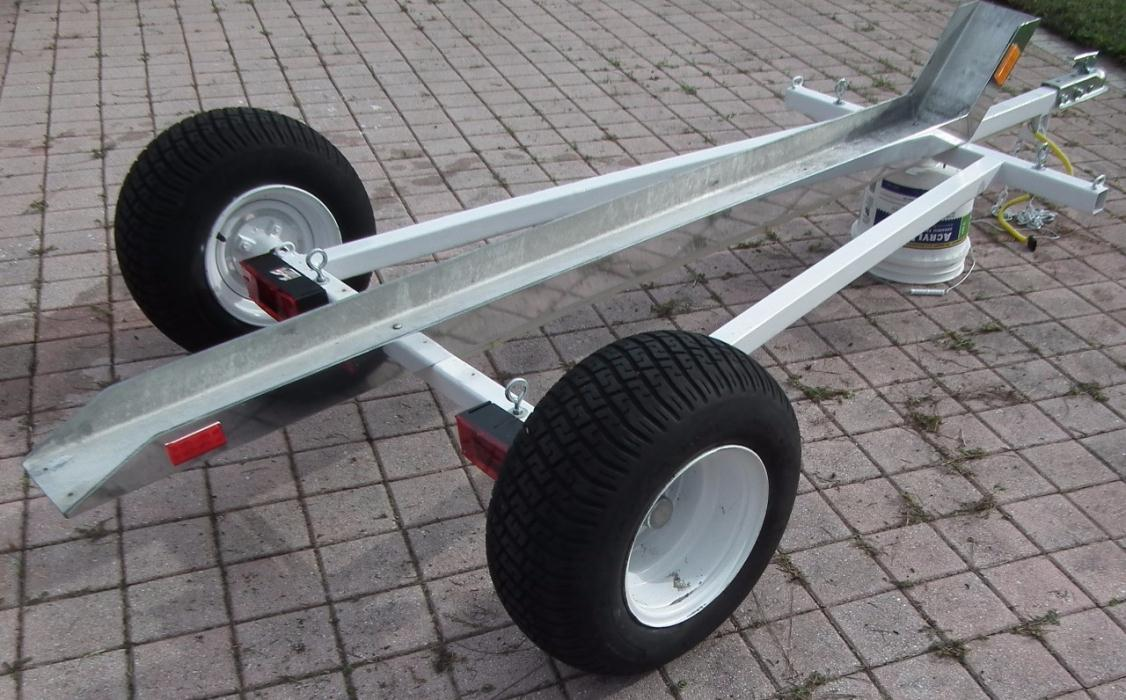 1998 Custom Motorcycle Trailer