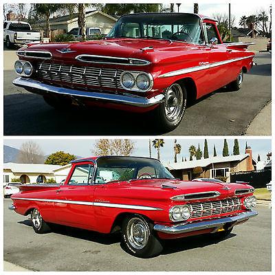 Chevrolet : El Camino El Camino 1959 chevy el camino 350 350 a c power steering great cond ready to drive ca car