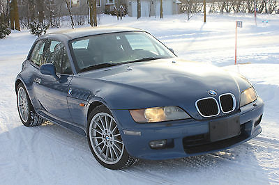BMW : Z3 Coupe Blue 1999 BMW Z3 Coupe - Only 74,515 miles