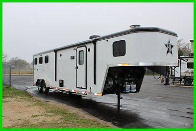 2015 Hoosier Horse Trailers Renegade 7310 New