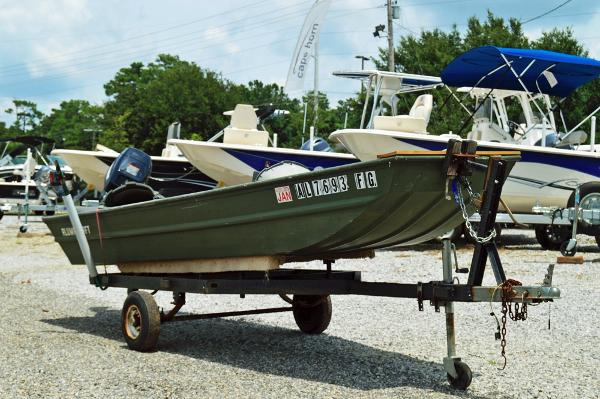 2006 Alumacraft 1436 Jon Boat
