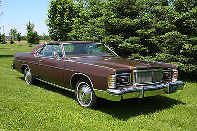 Mercury : Grand Marquis 1978 mercury grand marquis coupe 24 780 miles