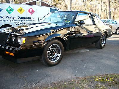 Buick : Regal Grand National 1987 buick regal grand national 8750 original miles paint tires paperwork