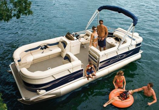 2014 Sylvan Mirage Cruise 8522 CR