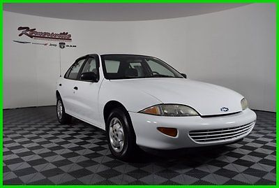 Chevrolet : Cavalier FWD 2.2L I4 Used Sedan - Keyless Entry FINANCING AVAILABLE!! 78012 Miles Used 1996 Chevrolet Cavalier Sedan 2.2L I4 8V