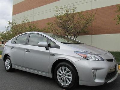 Toyota : Prius Plug-In Hatchback 4-Door 2013 toyota prius plug in auto navigation low miles best offer