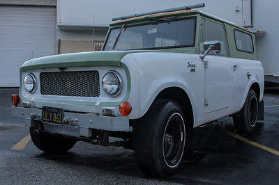 International Harvester : Scout 1963 international scout 80 classic