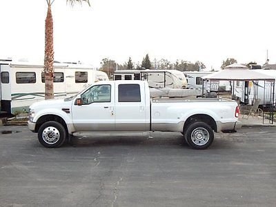 Ford : F-450 KING RANCH LARIAT SUPER DUTY 2008 ford f 450 king ranch lariat super duty dually crew cab 80 k miles