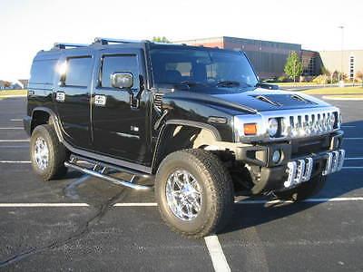 Hummer : H2 Base Sport Utility 4-Door 05 hummer h 2 luxury tank black on black