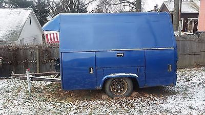 Tool trailer - Enclosed Trailer - Stahl bed - Utility bed -