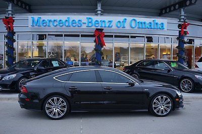 Audi : A7 3.0 Prestige 2012 supercharged gas automatic awd leather black audi a 7 coupe