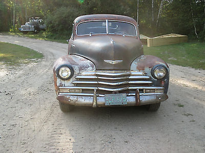 Chevrolet : Other fleetline 1947 chevy fleetline, 1