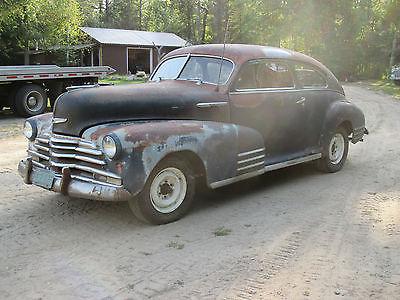 Chevrolet : Other fleetline 1947 chevy fleetline, 2